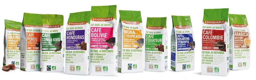 photo de l'offre Café bio et équitable en capsules, dosettes, grains, moulu ou soluble