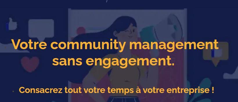 photo de l'offre community management